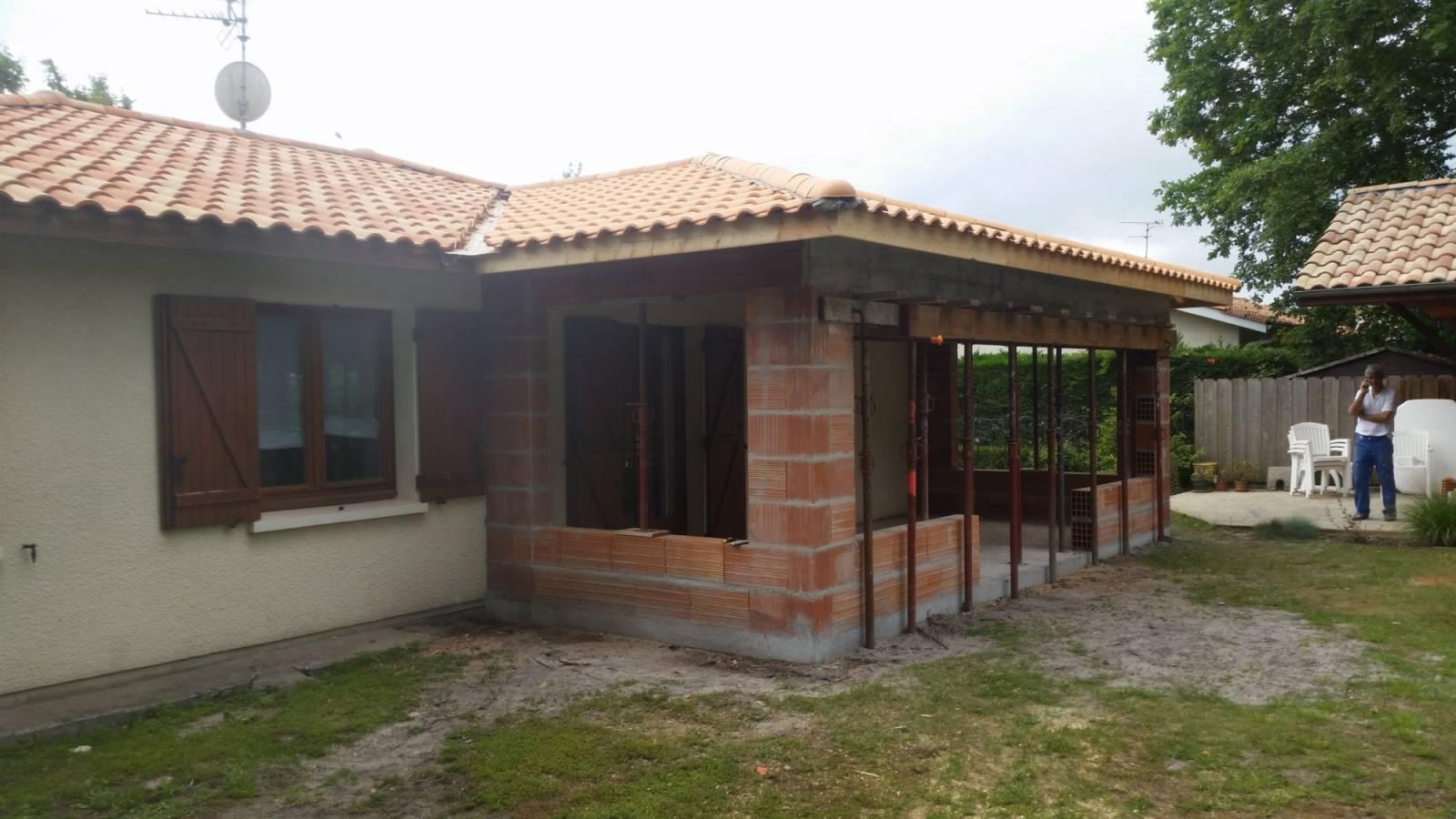 Extension maison gironde ventana blog for Entreprise de construction maison en bois