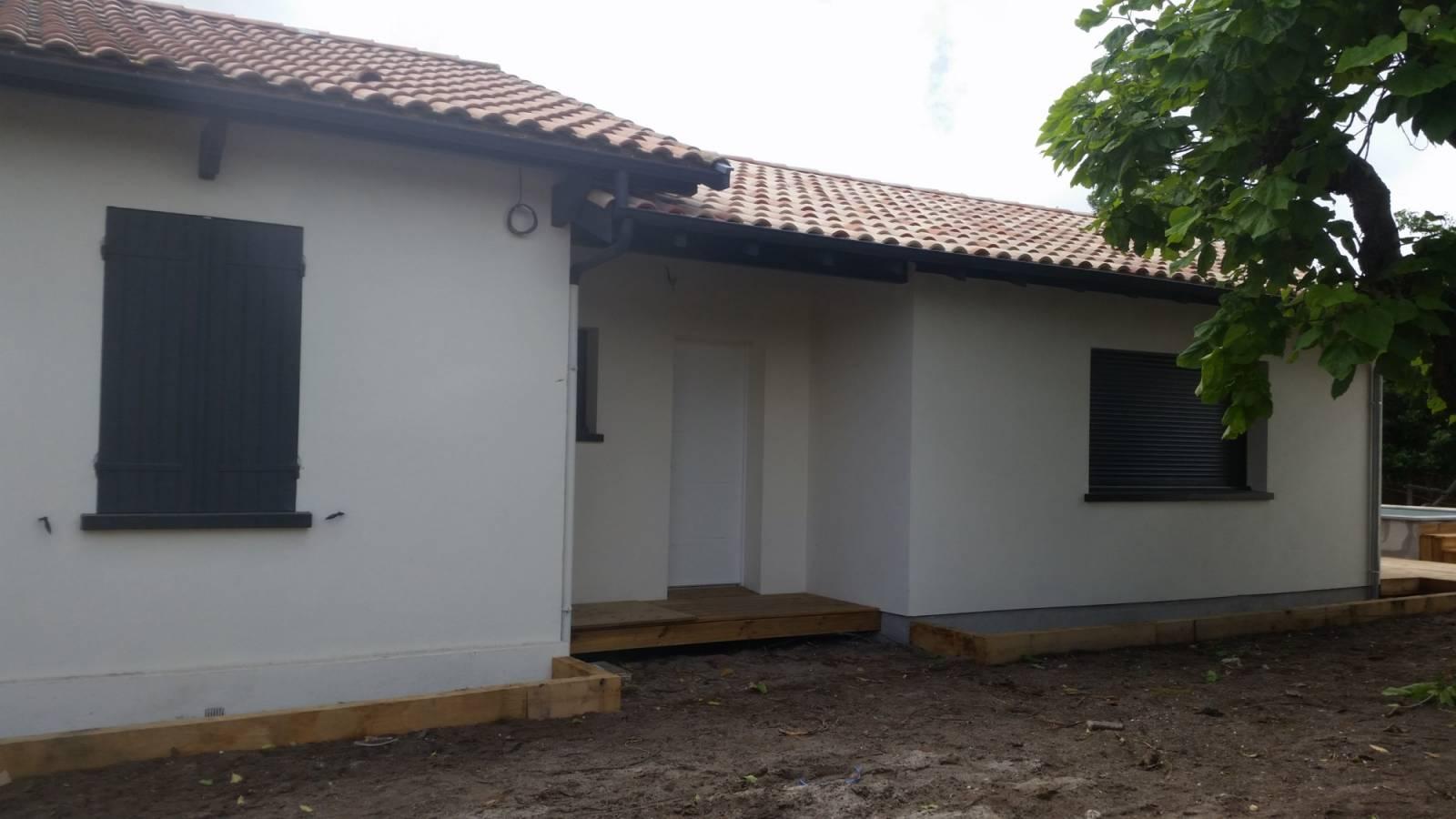 Construction maison neuve ou agrandissement en gironde for Agrandissement de maison