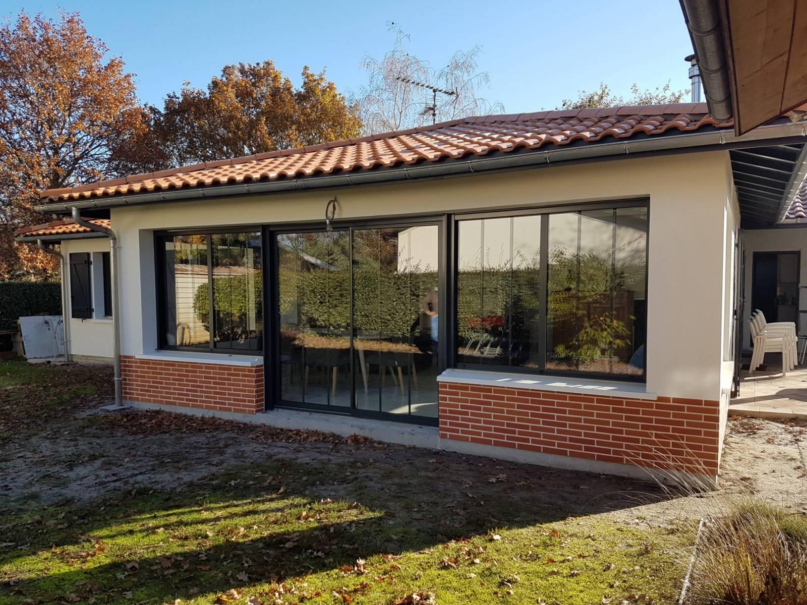 Construction maison neuve ou agrandissement en gironde for Maison neuve aquitaine