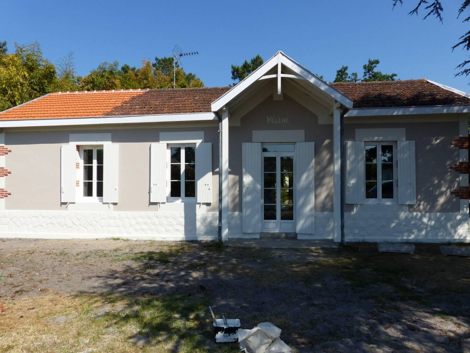 R novation et agrandissement d une maison arcachon for Agrandissement maison 76